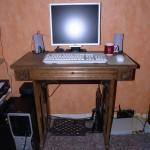 Nähmaschinen-Schreib-Tisch