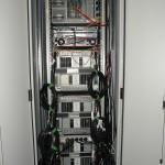 Server haust im 19-Zoll-Schrank