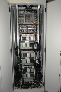 Server hausen oft im 19-Zoll-Schrank