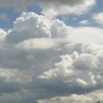 Himmel ueber der Landschaft